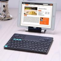 Rii K16 Wireless Keyboard 2.4G BT w Mouse Trackpad Rechargeable