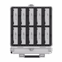 "Orico Silver Aluminium BSC35-10 2.5 & 3.5"" Hard Drive Protection Box"