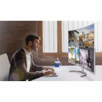 Philips BDM4037UW 40 in Curved LED (4K-UHD) VGA/HDMI/DP(16:9) 3840X2160 SPkers TILT VESA 4XUSB3.0