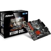 AsRock H110M-DVS-R3.0 LGA 1151 Micro ATX Motherboard