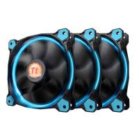 Thermaltake Riing 12 Blue High Static Pressure LED Radiator 120mm Fan (3 Fans Pack)