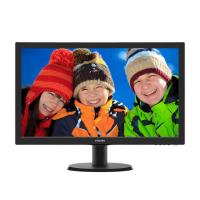 Philips 243V5QHABA 23.6in LED VGA/DVI/HDMI (16:9) 1920x1080 Speakers Tilt Stand