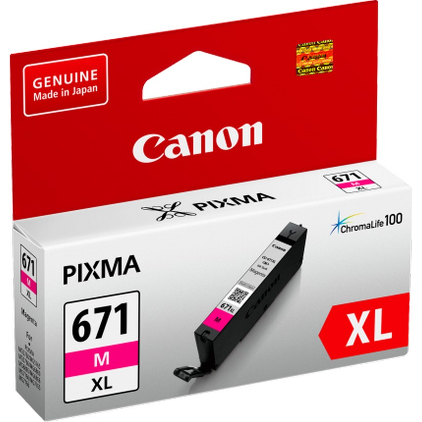 Canon CLI671XLM Magenta Extra Large Ink Tank for MG5760BK MG6860 MG7760