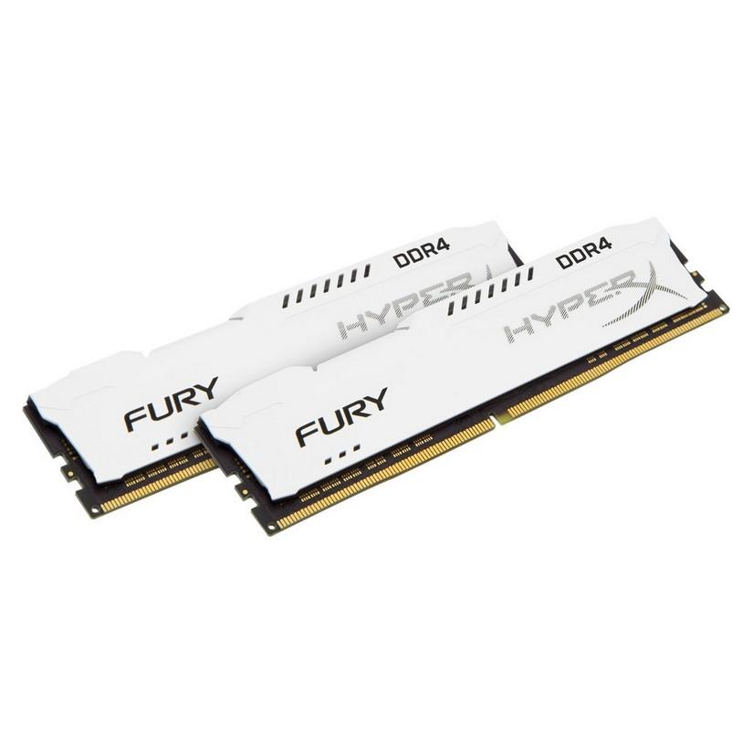 Kingston 16GB(2 x8GB)HX421C14FW2K2/16 Hyper X DDR4 2133Mhz Fury White