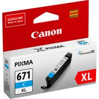 Canon CLI671XLC Cyan Extra Large Ink Tank for MG5760BK MG6860 MG7760