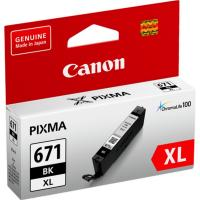 Canon CLI671XLBK Black Extra Large Ink Tank for MG5760BK MG6860 MG7760