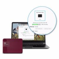Western Digital My Passport Ultra 3TB 2.5 inch WDBBKD0030BBY-PESN USB 3.0 Berry