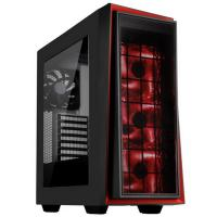 SilverStone Redline RL06 Pro Black Red Window ATX Case
