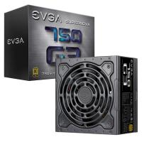 eVGA 220-G3-0750-X4  750W G3 130mm Hydraulic Dynamic Bearing Fan 4xPCIE 80+ Gold Full Modular