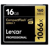 Lexar 16G 1066x Compact Flash Card