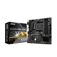 MSI B350M PRO-VDH AMD AM4 MB