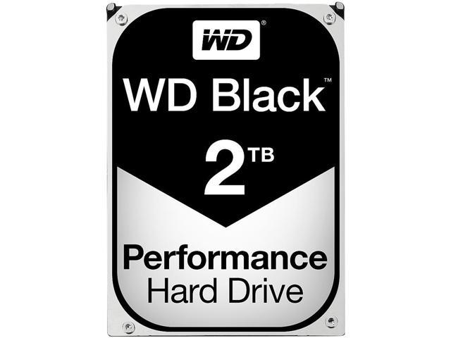 WD Black WD2003FZEX 2 TB 6 Gb/s 3.5in SATA 7200 RPM 64 MB