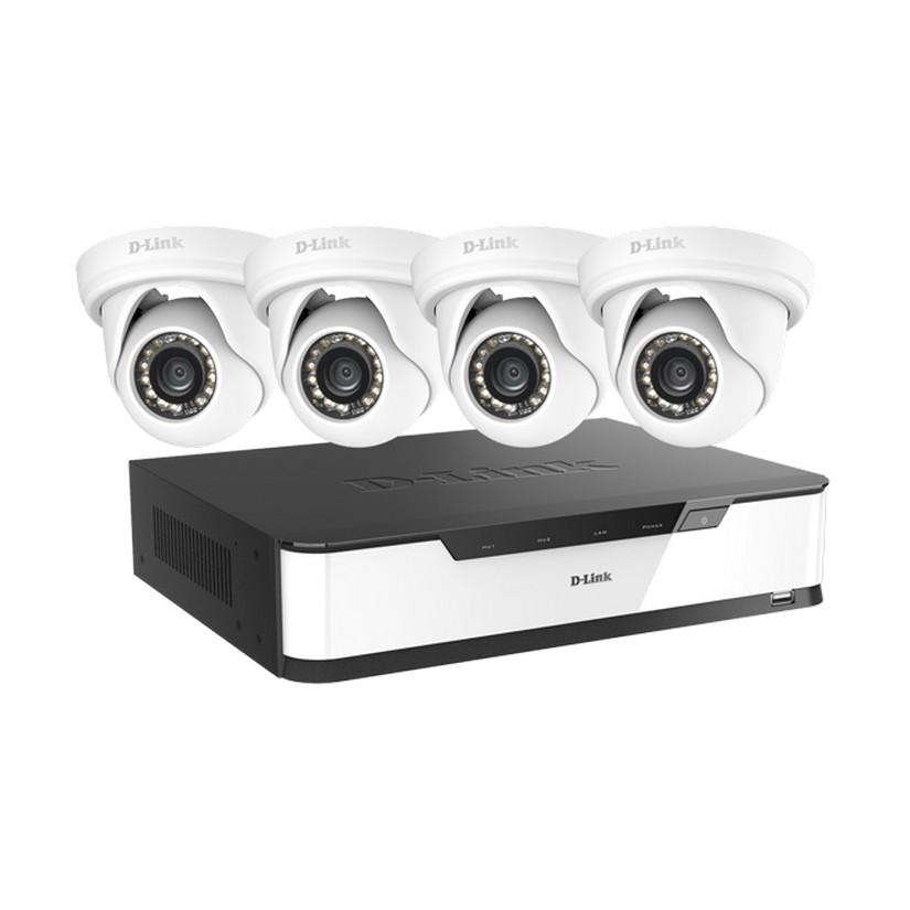 D-Link DNR16-4802-4 Full HD Surveillance Starter Kit(16CH NVR w 4 x Full HD Cameras)