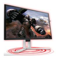 "AOC AGON MNAO-AG241QG 23.8"" 1ms 165Hz 2560x1440 G-Sync Gaming Monitor w/HAS HDMI/DP,Hub/Charge Spke"