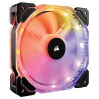 Corsair HD140 RGB LED High Performance 140mm PWM Fan Dual Pack with Controller