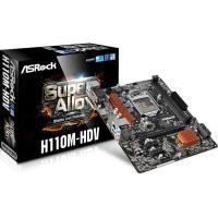 ASRock H110M-HDV R3.0 LGA1151 Micro-ATX Motherboard