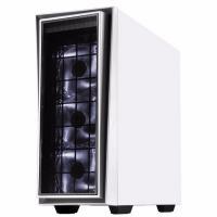 Silverstone Redline RL06 Pro White/Silver Window ATX Case