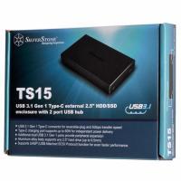 Silverstone SST-TS15B USB3.1 Gen 1 Type-C 2.5inch HDD/SSD External Enclosure