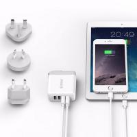 Orico Universal Wall Charger for Worldwide Travel White