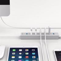 Orico Aluminum 7 Port USB3.0 Hub