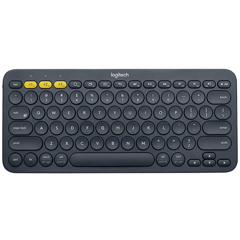 Logitech K380 Multi-Device Bluetooth Keyboard Black