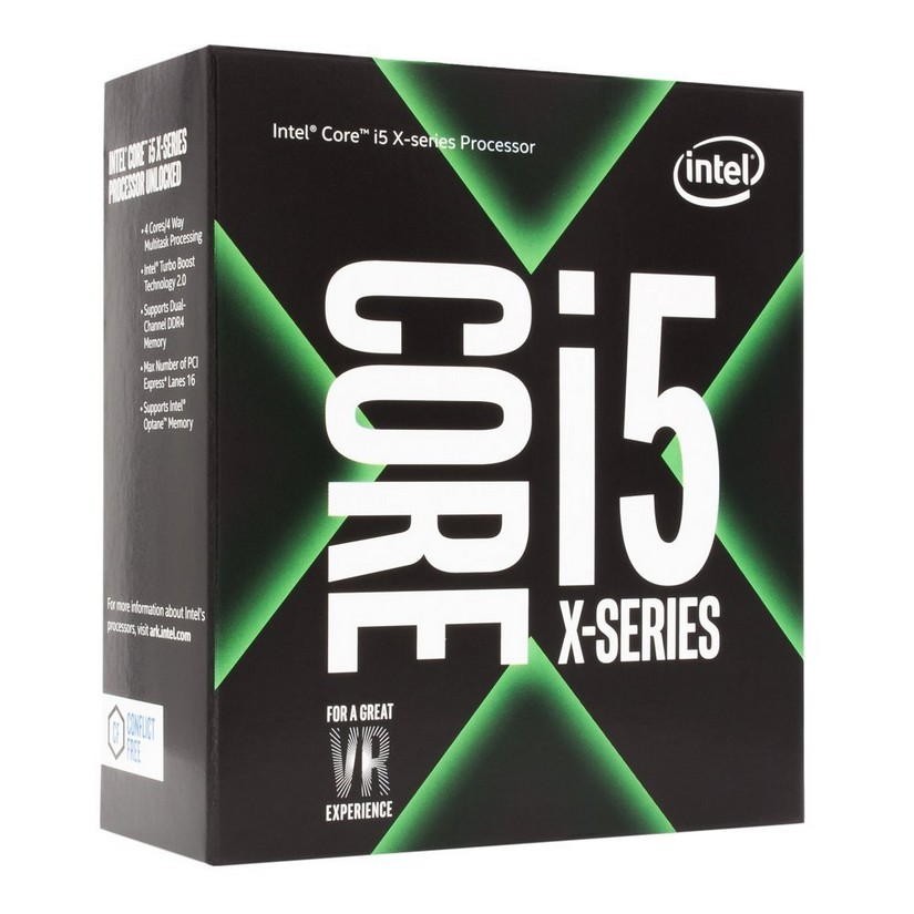 Intel Core i5 7640X Quad Core LGA 2066 4.0 GHz CPU Processor