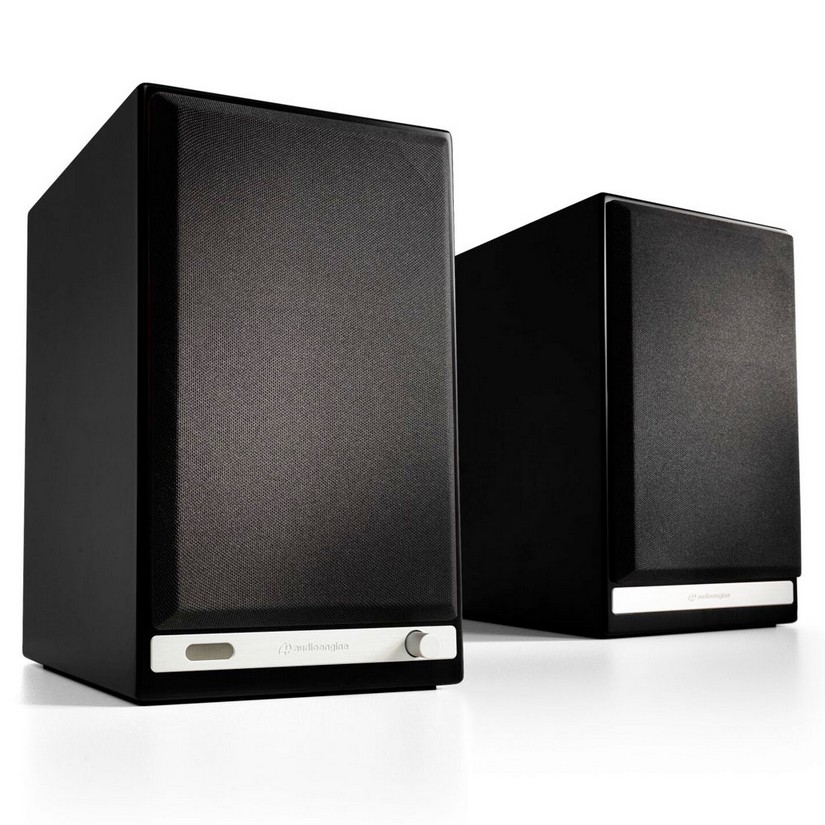Audioengine HD6 Powered Speakers Pair Satin Black