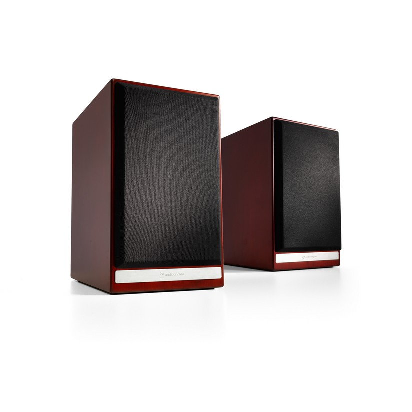Audioengine HDP6 Passive Bookshelf Speakers Pair Cherry