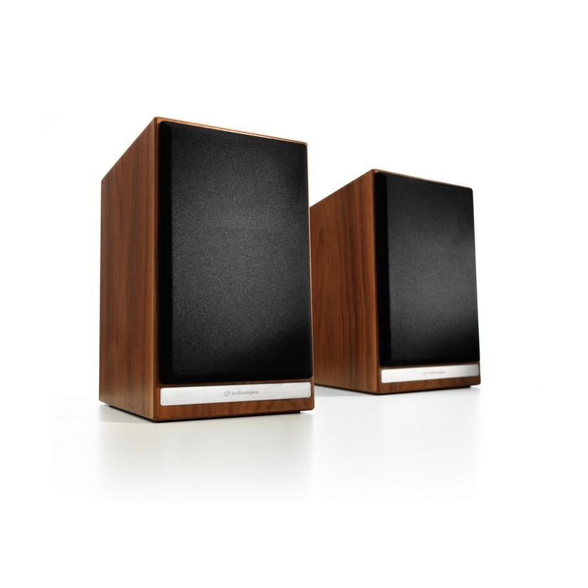 Audioengine HDP6 Passive Bookshelf Speakers Pair Walnut