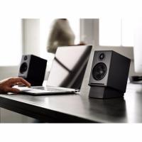 Audioengine 2+ Powered Desktop Speakers Pair Satin Black