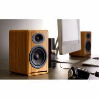 Audioengine P4 Passive Bookshelf Speakers Pair Hi-Gloss White