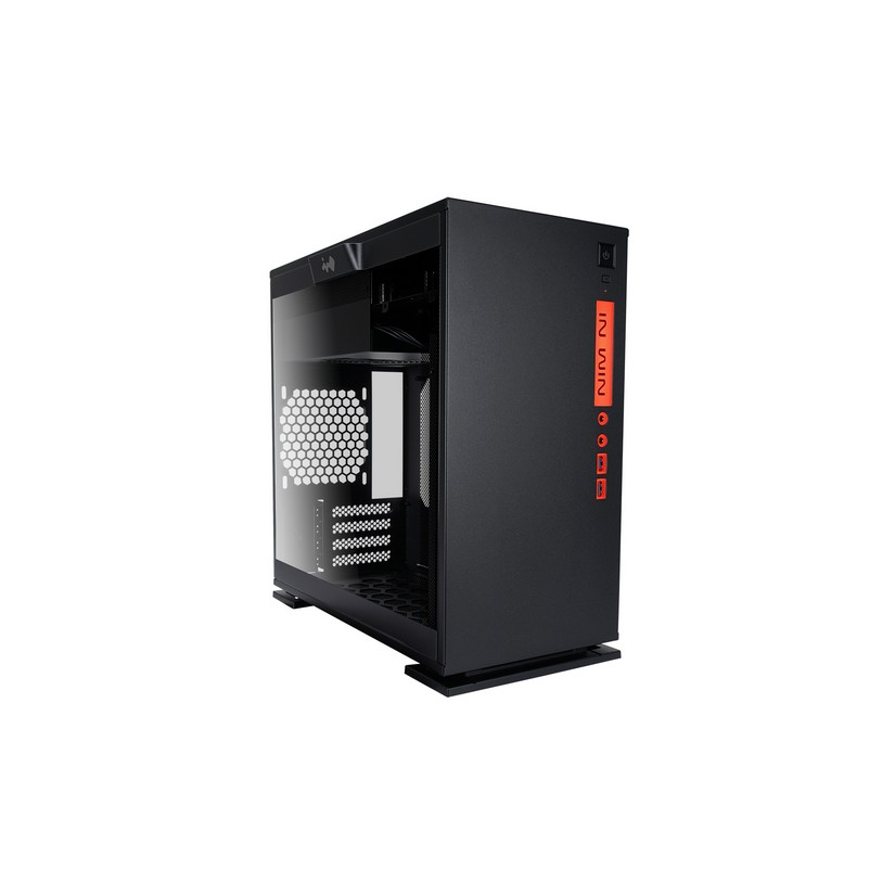 Inwin 301 Micro ATX Tower Black Chassis