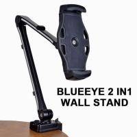 Blue Eye Full Motion Smartphone and Tablet Holder Wall Stand Black