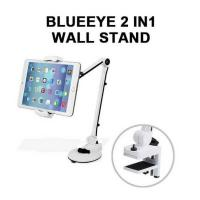 Blue Eye Full Motion Smartphone and Tablet Holder Wall Stand White