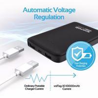 Promate 10000mAH Ultra Slim Lithium Polymer Power Bank Dual USB