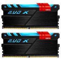 GeIL 32GB Kit (2x16GB) DDR4 EVO X RGB LED Dual Channel C16 2400MHz