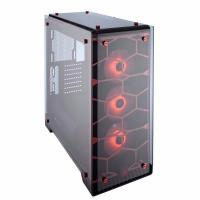 Corsair Crystal 570X RGB Tempered Glass Premium ATX Mid Tower Case Red