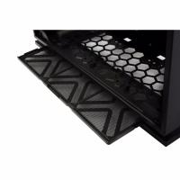 Inwin 303 Black Mid Tower ATX SECC Tempered Glass Side Panel with 3X RGB Black/Red Fans 2X Led Strip
