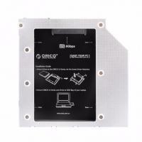 Orico Aluminium L95SS Laptop CD-ROM Bay Drive Bracket For 2.5 SATA Drive