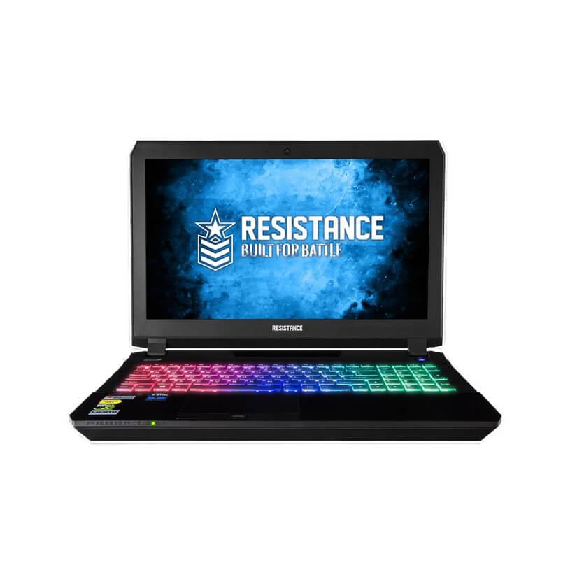 Resistance P655HP6-G-i7 15.6in FHD 16G 256G SSD + 1TB HDD W10H Gaming Notebook