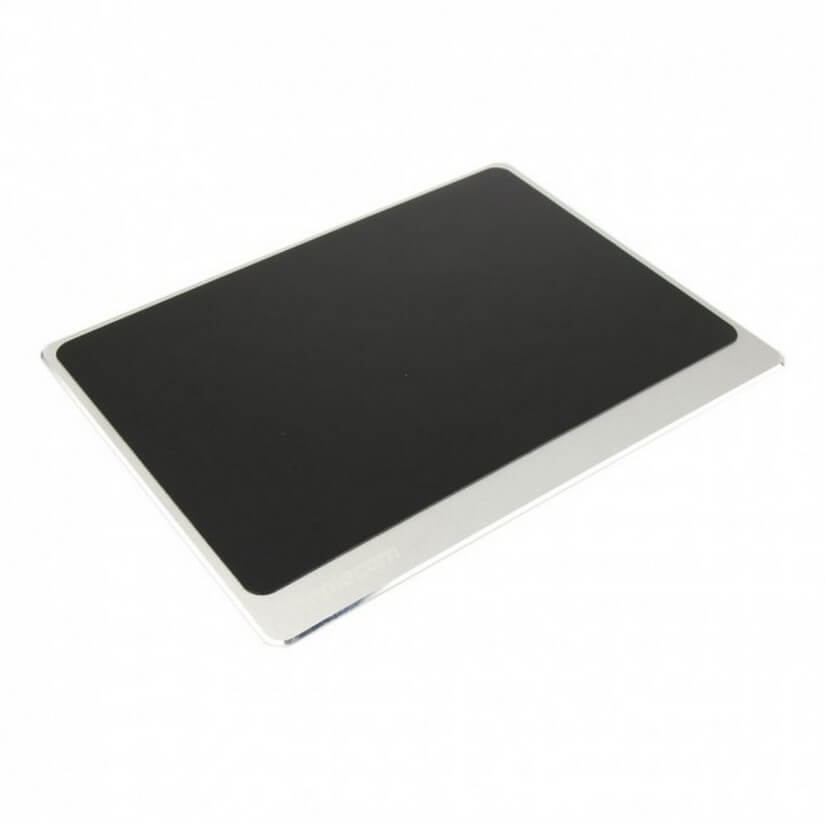 Simplecom CM210SL Silver Aluminium Panel Gaming Mouse Pad with Non-Slip Base