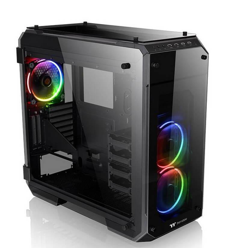 Resultado de imagen de View 71 Tempered Glass RGB Edition