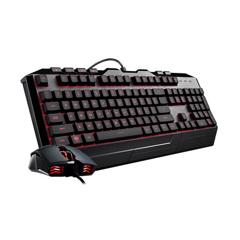 Cooler Master DEVASTATOR 3 Membrane 7 Color Led Keyboard + Mouse Bundle Box