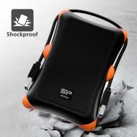 Silicon Power A30 1TB Shockproof External Hard Drive - USB 3.0