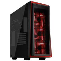 SilverStone RL06BR-GP Redline RL06 Black Tempered Glass  ATX Case