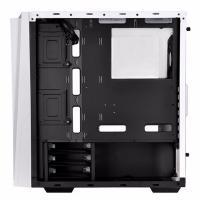 SilverStone RL06WS-GP Redline RL06 White Tempered Glass ATX Case