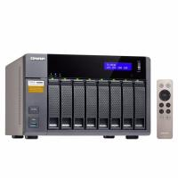 QNAP TS-853A-8G 8-Bay NAS Intel N3150 quad-core 1.6GHz (up to 2.08GHz) 8GB SATA