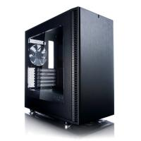 Fractal Design Define Mini C Tower Case Black Tempered Glass Ed