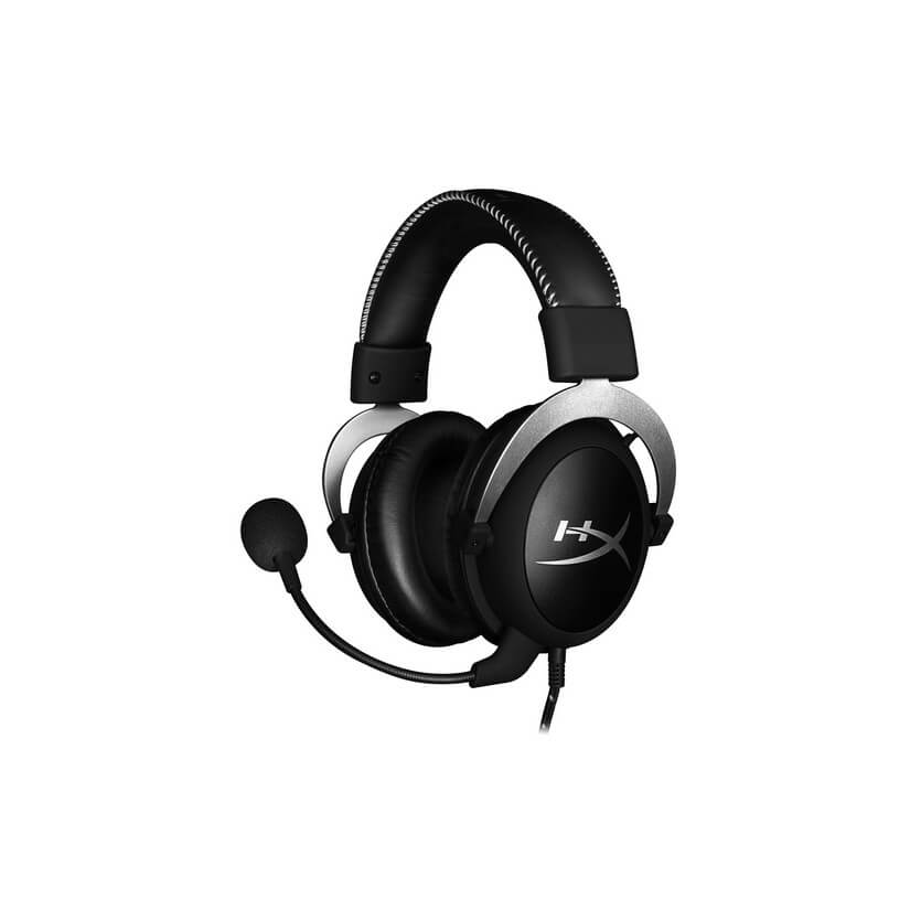 HyperX Cloud Silver Gaming Headset - Silver