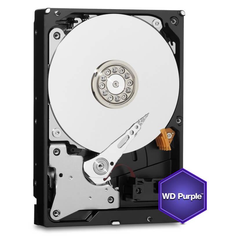 Western Digital Purple WD60PURZ 3.5in PURPLE,6TB Intellipower 64MB SATA III(6Gbps)3YRS